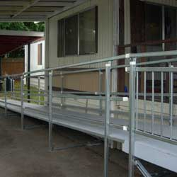 recent wheelchair ramp